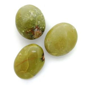 Green Opal Jasper Palmstone