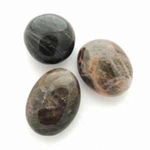 Black Moonstone Palmstone