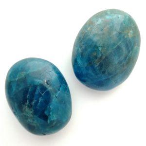 Blue Apatite Palmstone