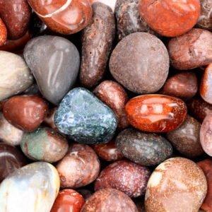 Fancy Bloodstone Tumblestone